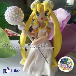 Handmade Princess Serenity Figure Polymer Clay