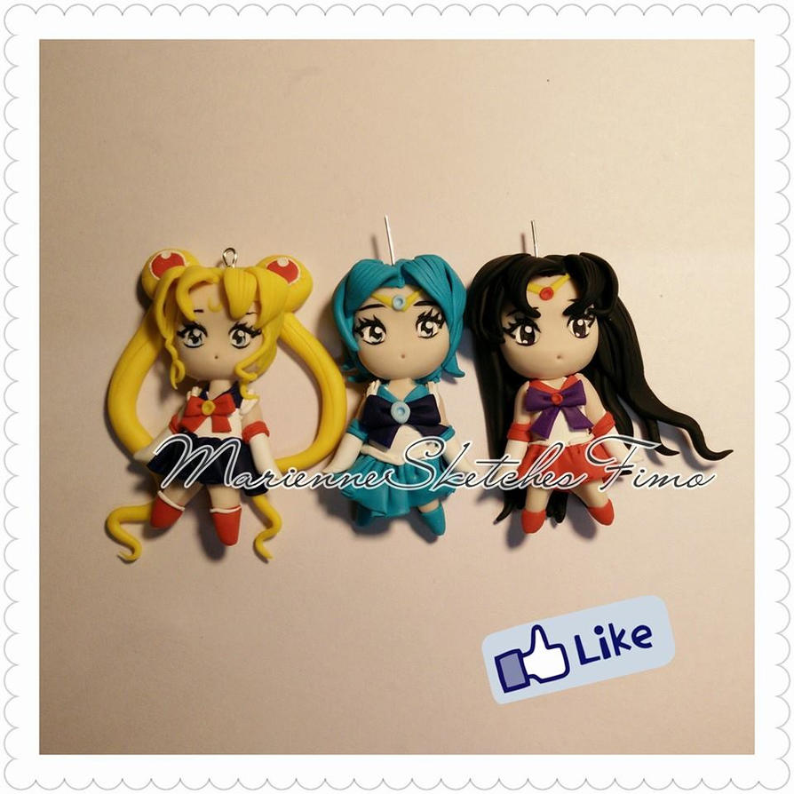 Sailor Senshi First Part - Handmade by DarkettinaMarienne