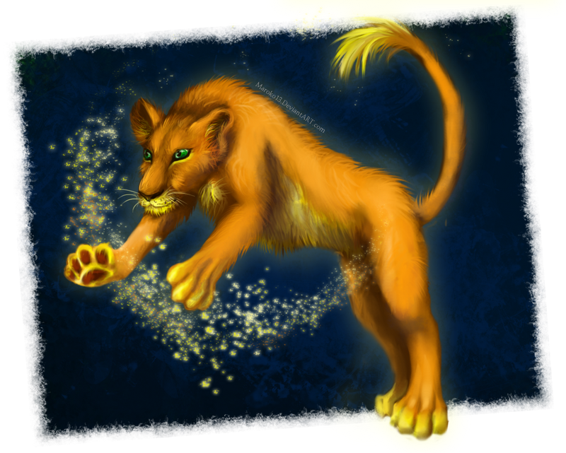 shining_lion_by_maroko13-d6iz6rk.png