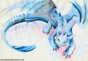 Toothless by FuzzyMaro