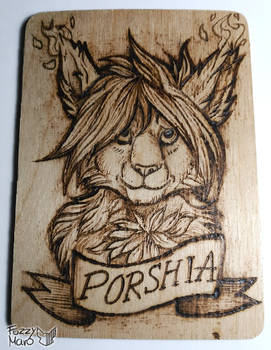 Porshia-Pyrography