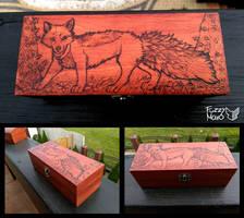 Fox-Pyrography