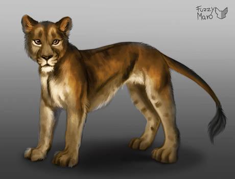 Speedpaint 14# -Lioness