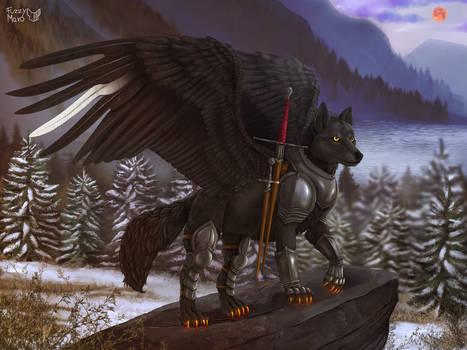 Proud wolf warrior