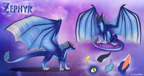 Zephyr character sheet by FuzzyMaro