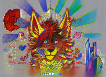 Staring into colors by FuzzyMaro