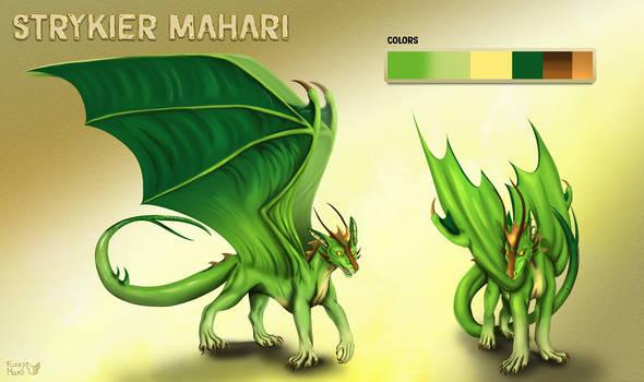 Green dragon- character sheet