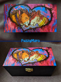 You are my light-pyrography box