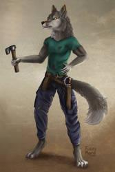 Character design-wolf subordinate