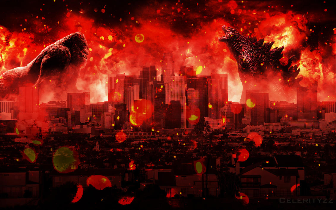 Godzilla VS Kong by CelerityzZ