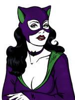 Catwoman Bust by BloodTalonHero