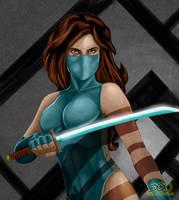 Ninja Girl - Colored by BloodTalonHero