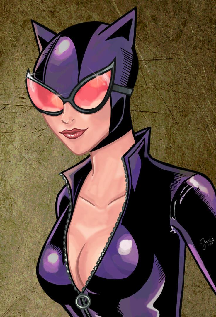 Catwoman by BloodTalonHero