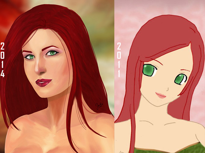 Redhead Improvement by BloodTalonHero