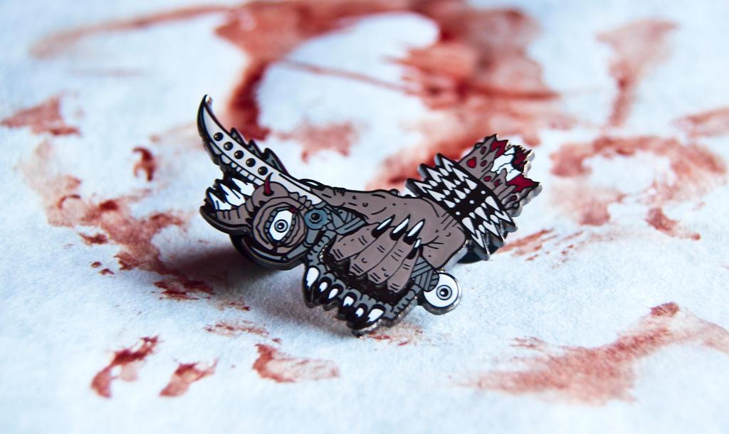 'The Blade' Enamel Pin by Enfant-Terrible