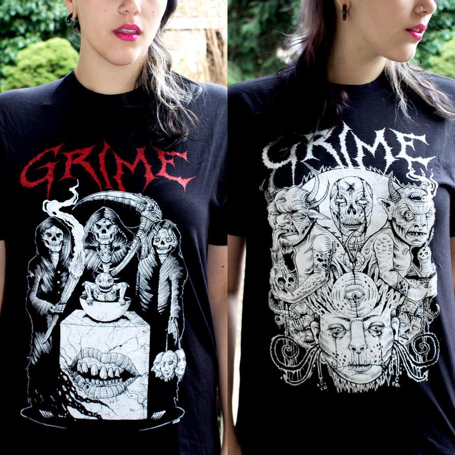 Grime T-shirts by Enfant-Terrible