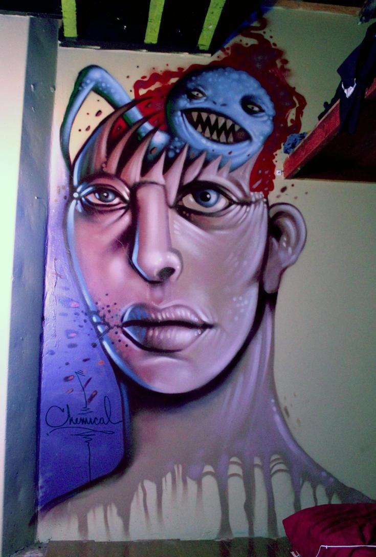 Mural by Enfant-Terrible