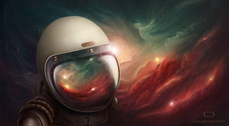 Space Rider by cdesign-art
