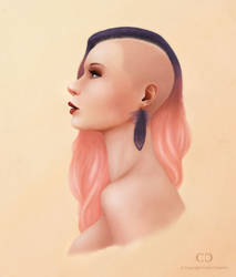 Stylized Portrait by cdesign-art