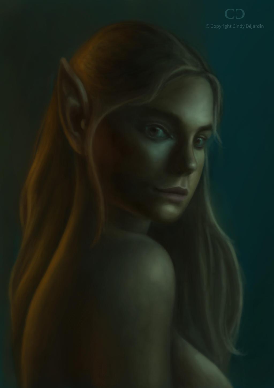 Elf Portrait by cdesign-art