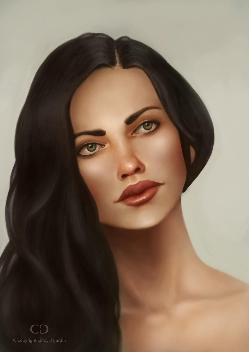 Portrait Practice - April 2017 by cdesign-art