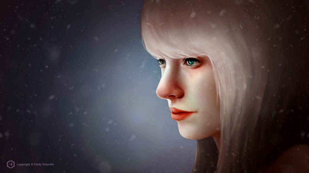 Winter Portrait by cdesign-art