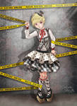 Crime Scene (Punk Lolita fashion)
