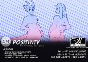 ANTHRO BASE #2 - POSITIVITY by planetsrings