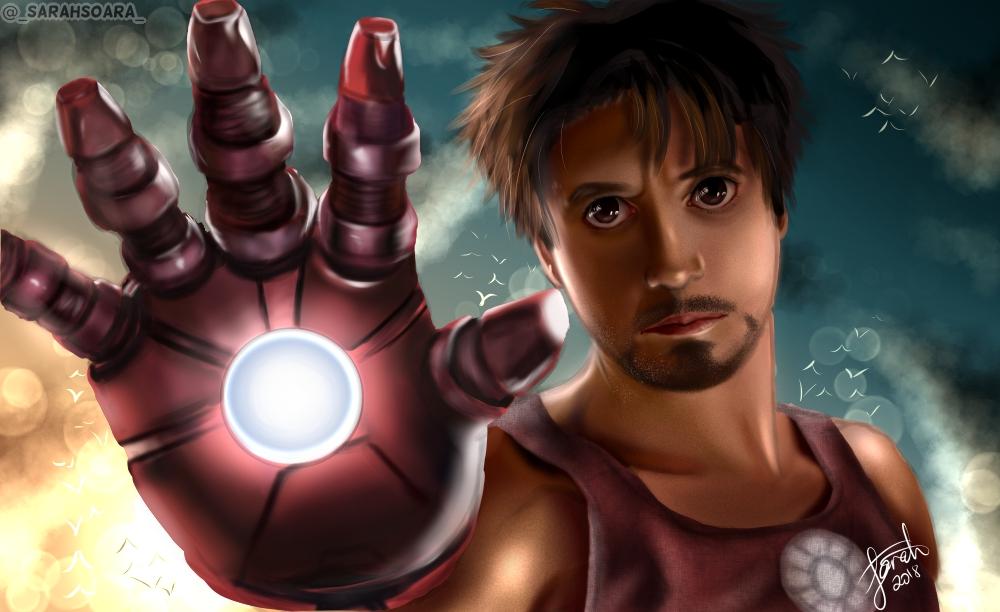 Iron Man by Neko-chan1997