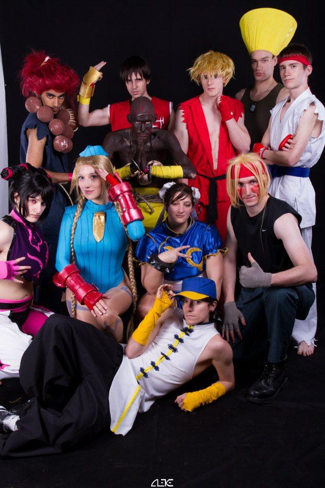 Street Fighter Team ! by Visual-Aurelie