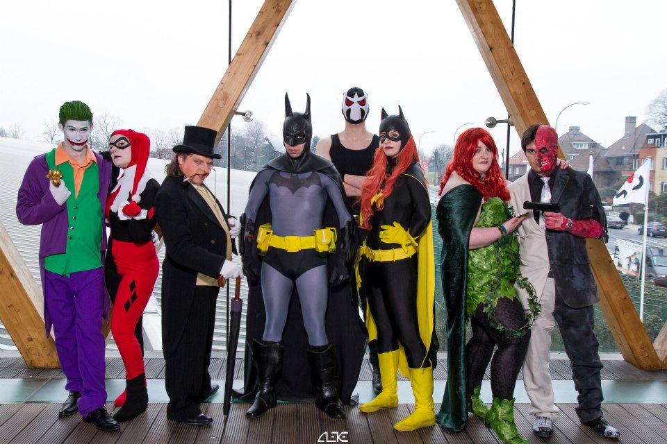 Batman's universe cosplay group by Visual-Aurelie