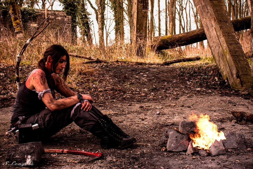 Lara: So much has happened... by Visual-Aurelie