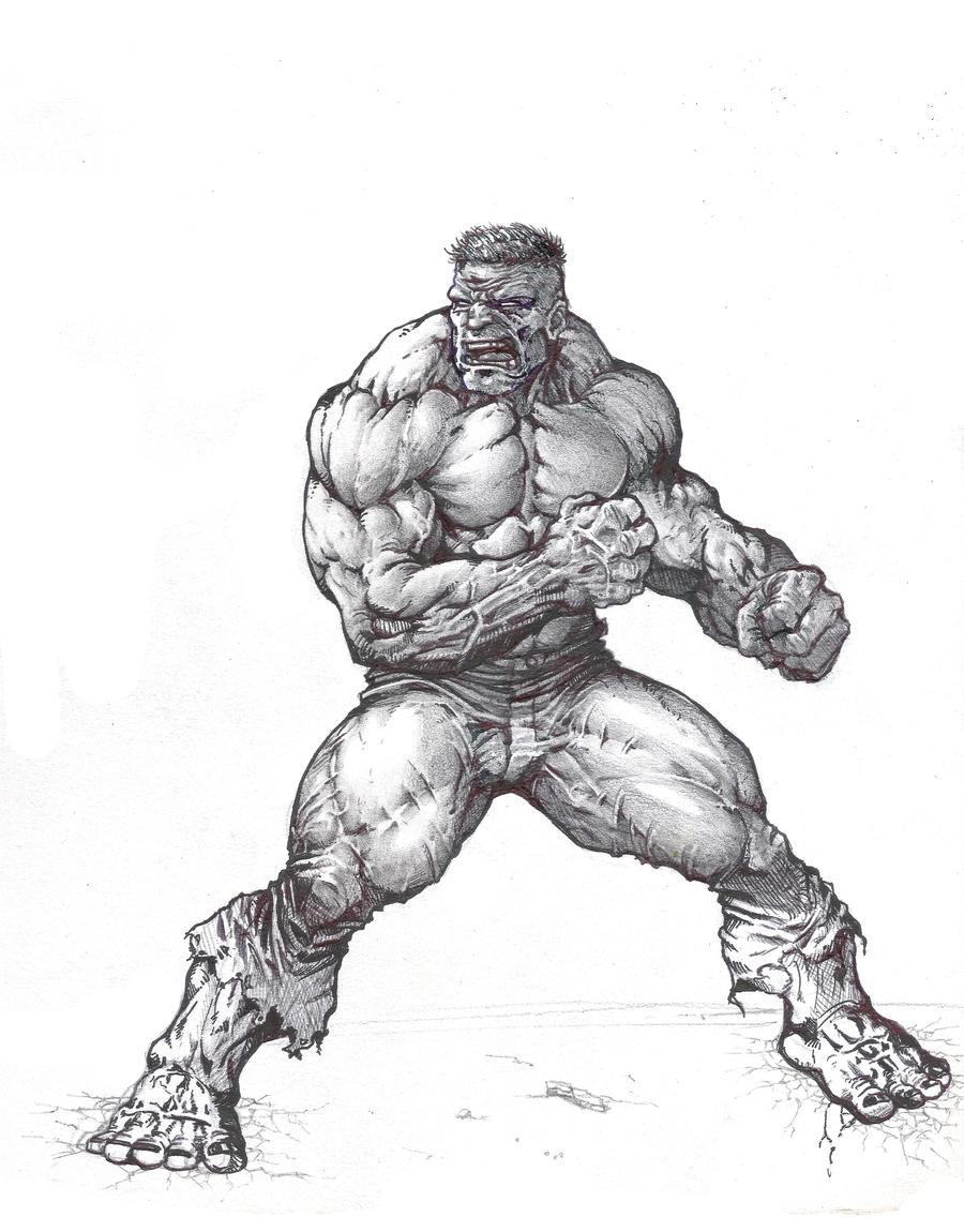 hulk by maxtraverso