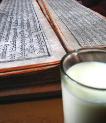 Libro y leche