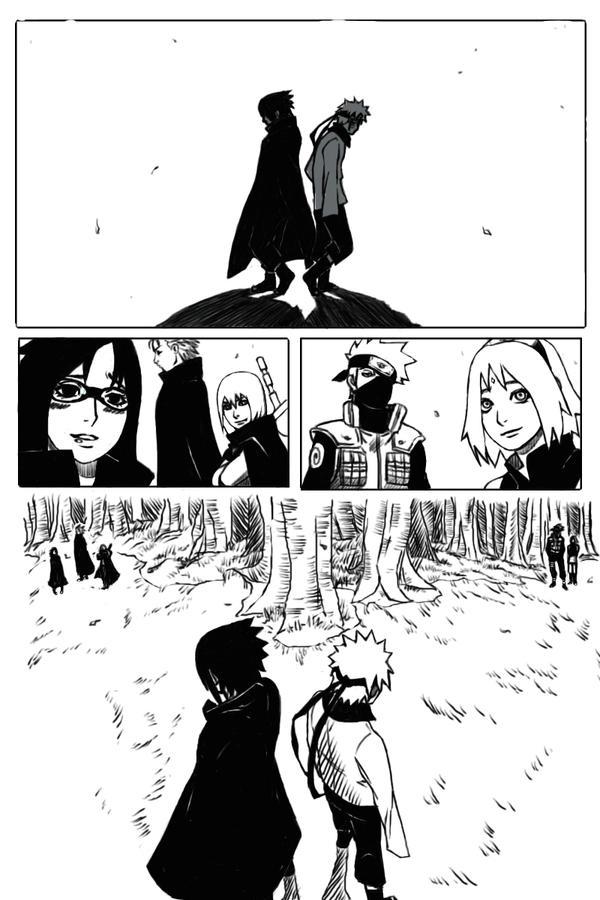 odg naruto manga chapter 699 redraw by opera de glace