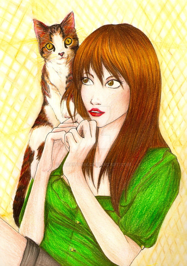 Cat's Eyes by LaraInPink