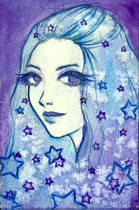 ACEO Stars by LaraInPink