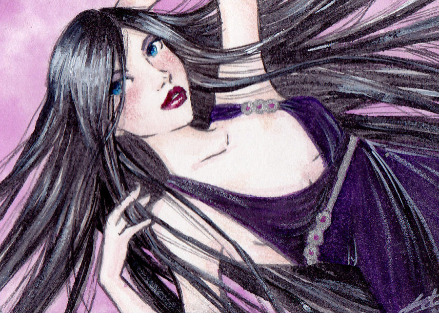 ACEO: Hecate for Hecateslight by LaraInPink