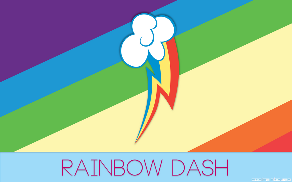 Rainbow Dash Wallpaper by CoolRainbow20