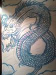 Dragon Tattoo Flash Doodle