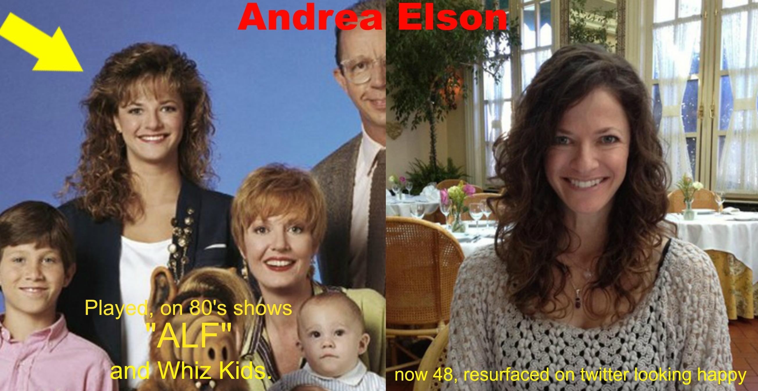 Andrea Elson Fotos andrea elson then and nowparislatts2001 on deviantart