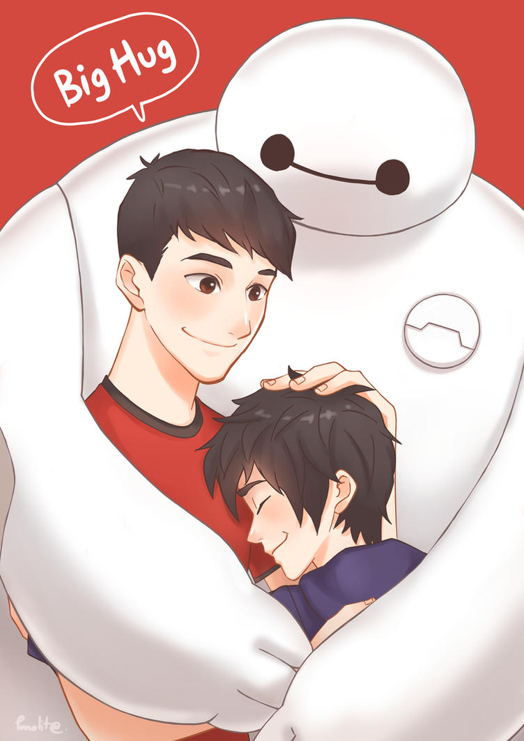 i'll try to picture me without you but i can't. ( baymax ) ♡ Bighug_by_pmolita-d8e80vu