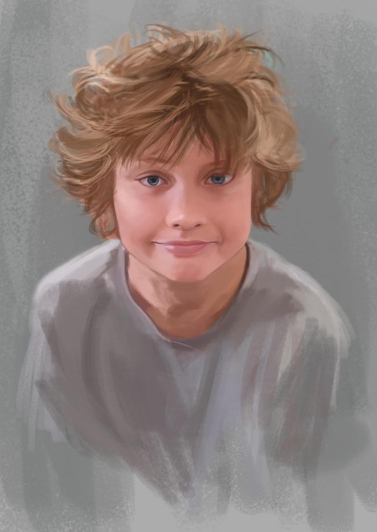 Yohann 11 ans by VayLoe