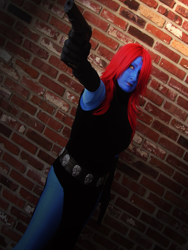 mystique brickwall by WildIrish007
