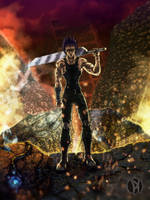 Swordman of the Apocalypse by al-dy