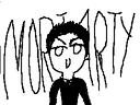 I drew Moriarty!!!! by xXKatnissXx