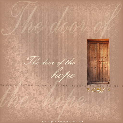 the door of the hope by 3ameeduae