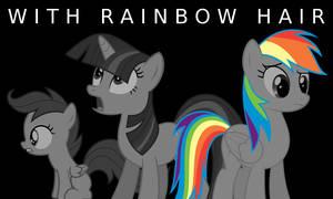 With Rainbow Hair header