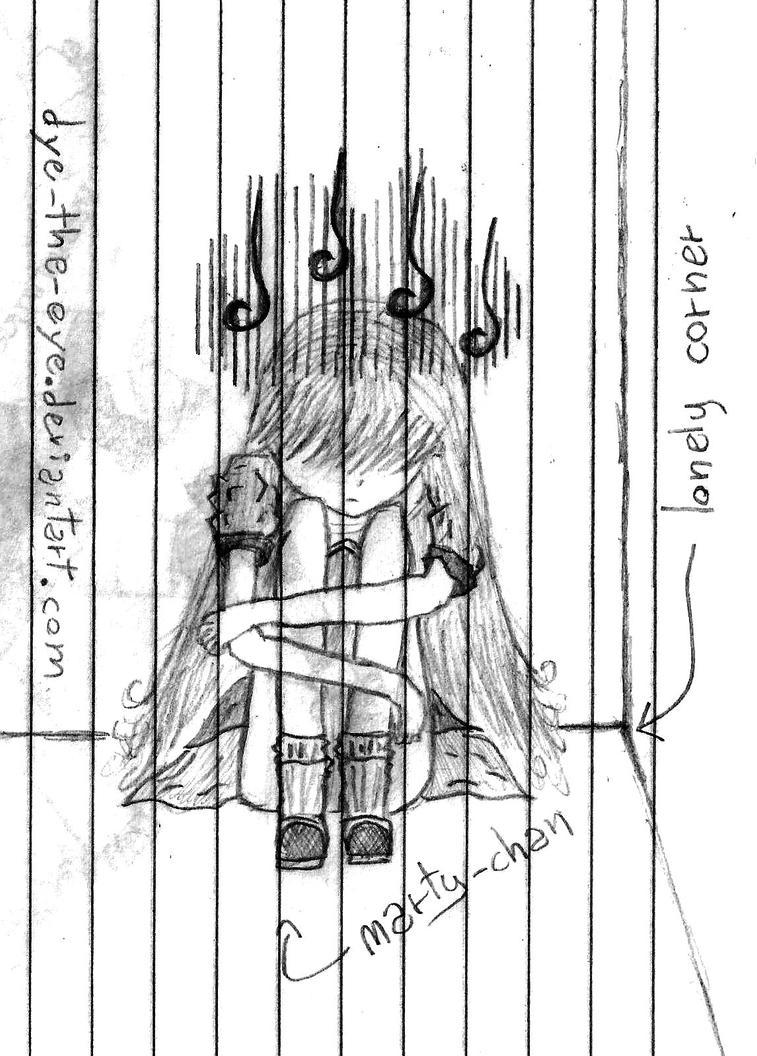 Depressed Sketch by dy...