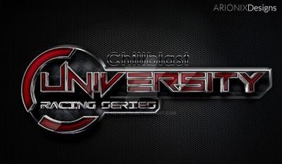 chillblast university racing series logo design by neroxtm on
